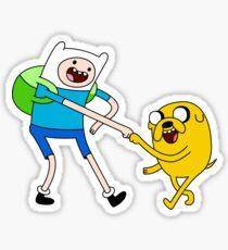 Finn and Jake! Sticker