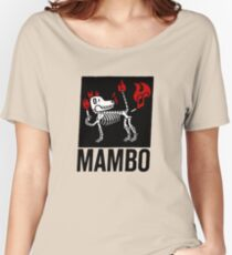 MAMBO FARTING DOG Women's Relaxed Fit T-Shirt