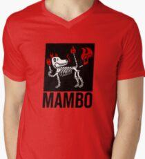 MAMBO FARTING DOG Men's V-Neck T-Shirt