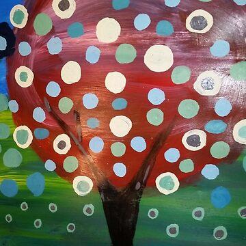 Happy Tree by JulieRobin