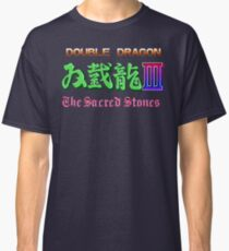 Double Dragon 3 The Sacred Stones (NES) Classic T-Shirt
