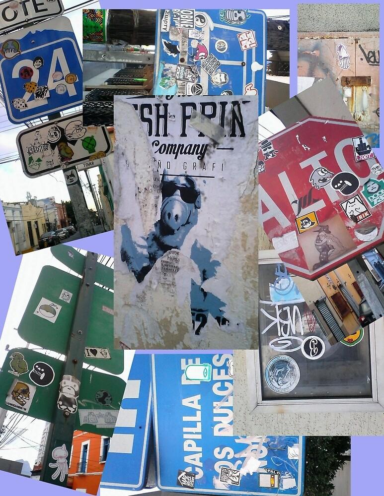 Sticker Street by Mandoart