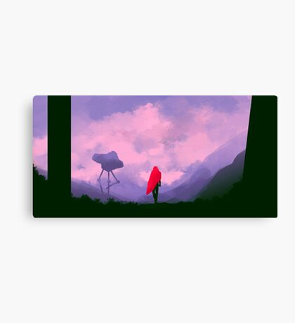 Anomaly in Hue Canvas Print