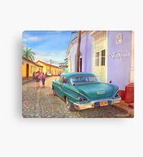 Trinidad, Cuba - 1958 Chevy Biscayne Canvas Print