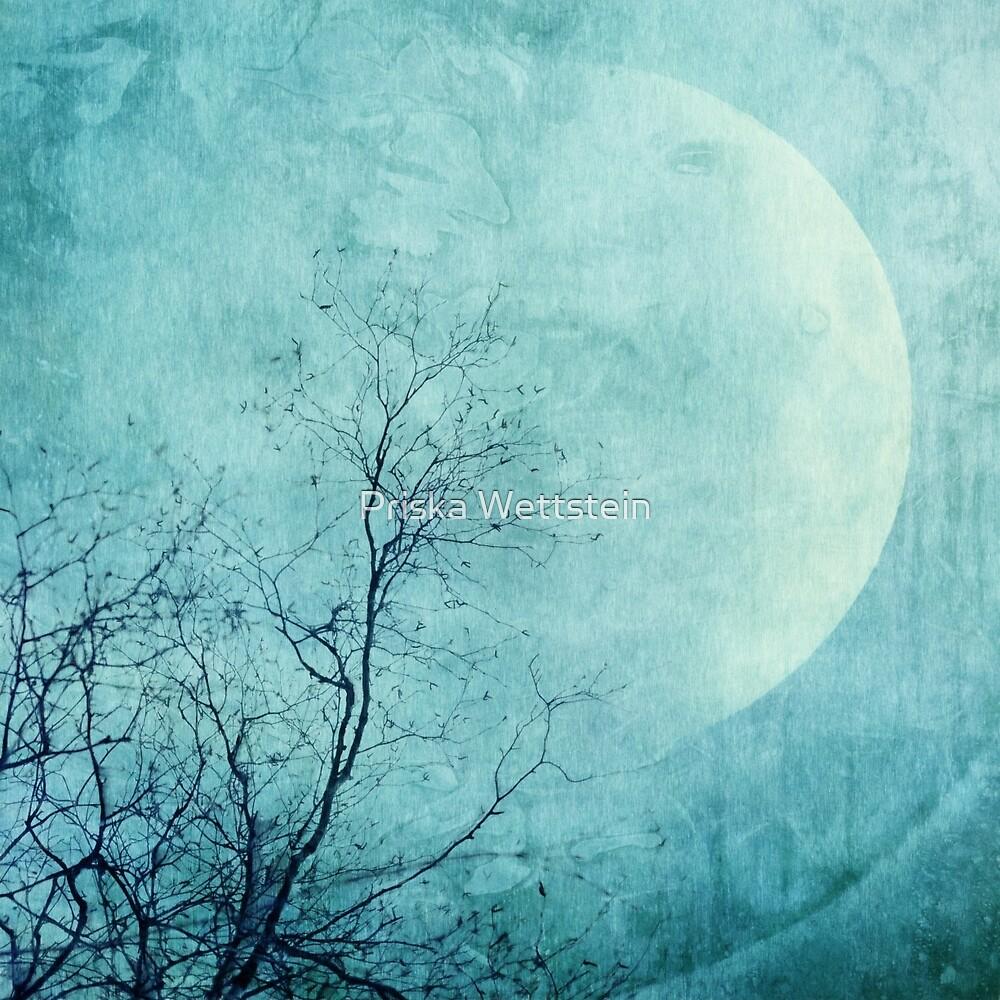 Reach for the moon by Priska Wettstein