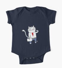 Business Cat Kids Clothes
