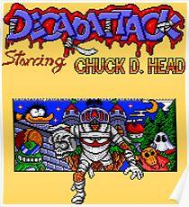 Decap Attack (Genesis Title Screen) Poster
