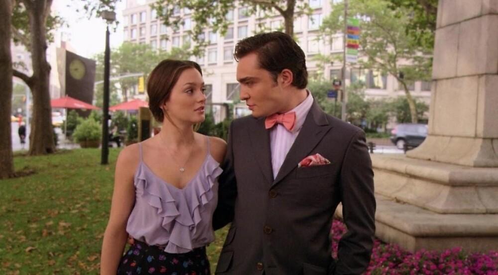Gossip girl- Chuck and Blair  by megan-mathias