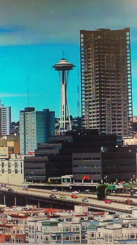 Space Needle by bmmarketing1