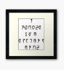 The True Spirit of the Dragonborn Framed Print