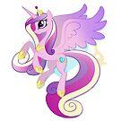 Princess Cadence Vignette by EchoesLight