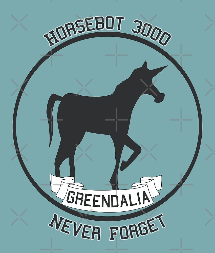 Horsebot 3000 Never Forget  by LozMac