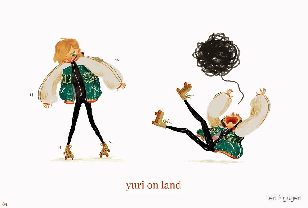 yuri on land by Len Nguyen