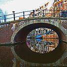 Canals Of Amsterdam by Al Bourassa