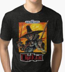 Chakan - SEGA Genesis Box Art Tri-blend T-Shirt