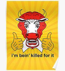 Ronald McCow vegan design Poster