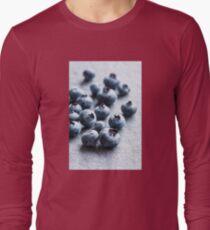 Fresh Blueberries Long Sleeve T-Shirt