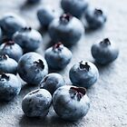 Fresh Blueberries by Colleen Farrell