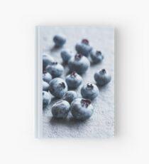 Fresh Blueberries Hardcover Journal