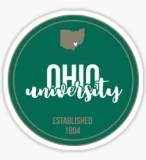 Ohio University - Style 17 Sticker