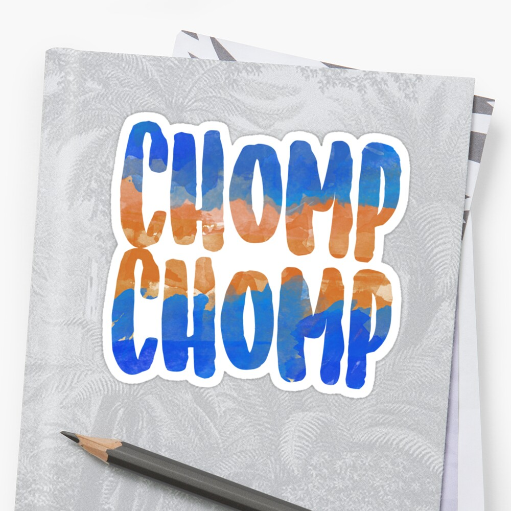 """Chomp Chomp"" Watercolor by channingsmith"