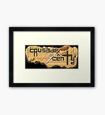 Crusader of Centy (Genesis Title Screen) Framed Print