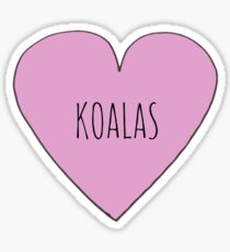 Koala Love Sticker