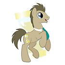 Dr Whooves Vignette by EchoesLight