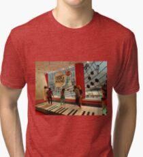 The Big Piano, FAO Schwarz Toy Store, New York City Tri-blend T-Shirt