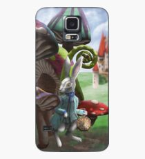 White Rabbit in the Wonderland Toadstool Forest Case/Skin for Samsung Galaxy