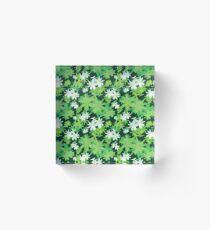 Get It Green Acrylic Block