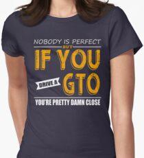 Pontiac GTO Women's Fitted T-Shirt