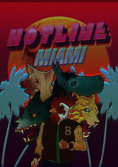 Hotline Miami by sick-vixen