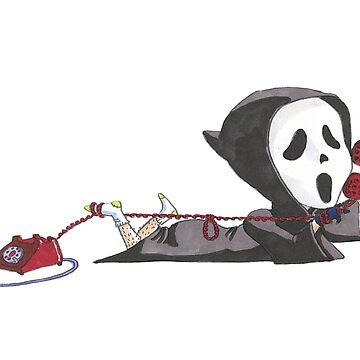 The Scary Movie Fan. by TheArtofRuff