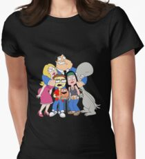 american dad Womens Fitted T-Shirt