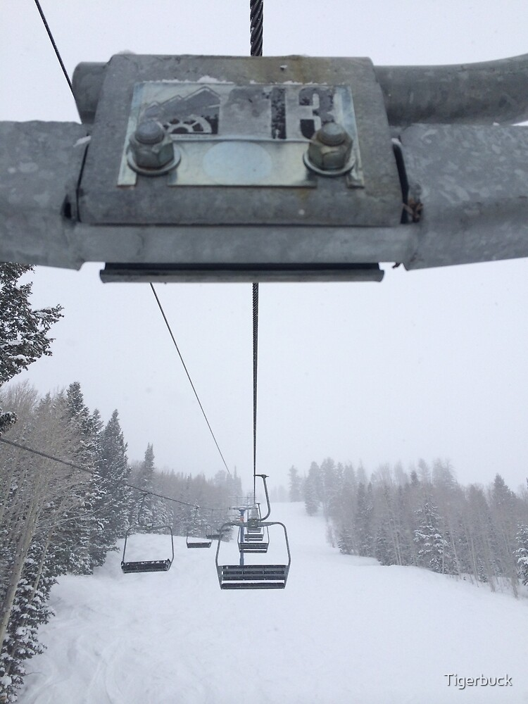 February Chairlift by Tigerbuck