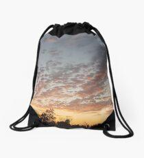 High Desert Sunset Drawstring Bag