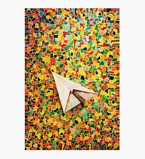 Paper Airplane 73 Photographic Print