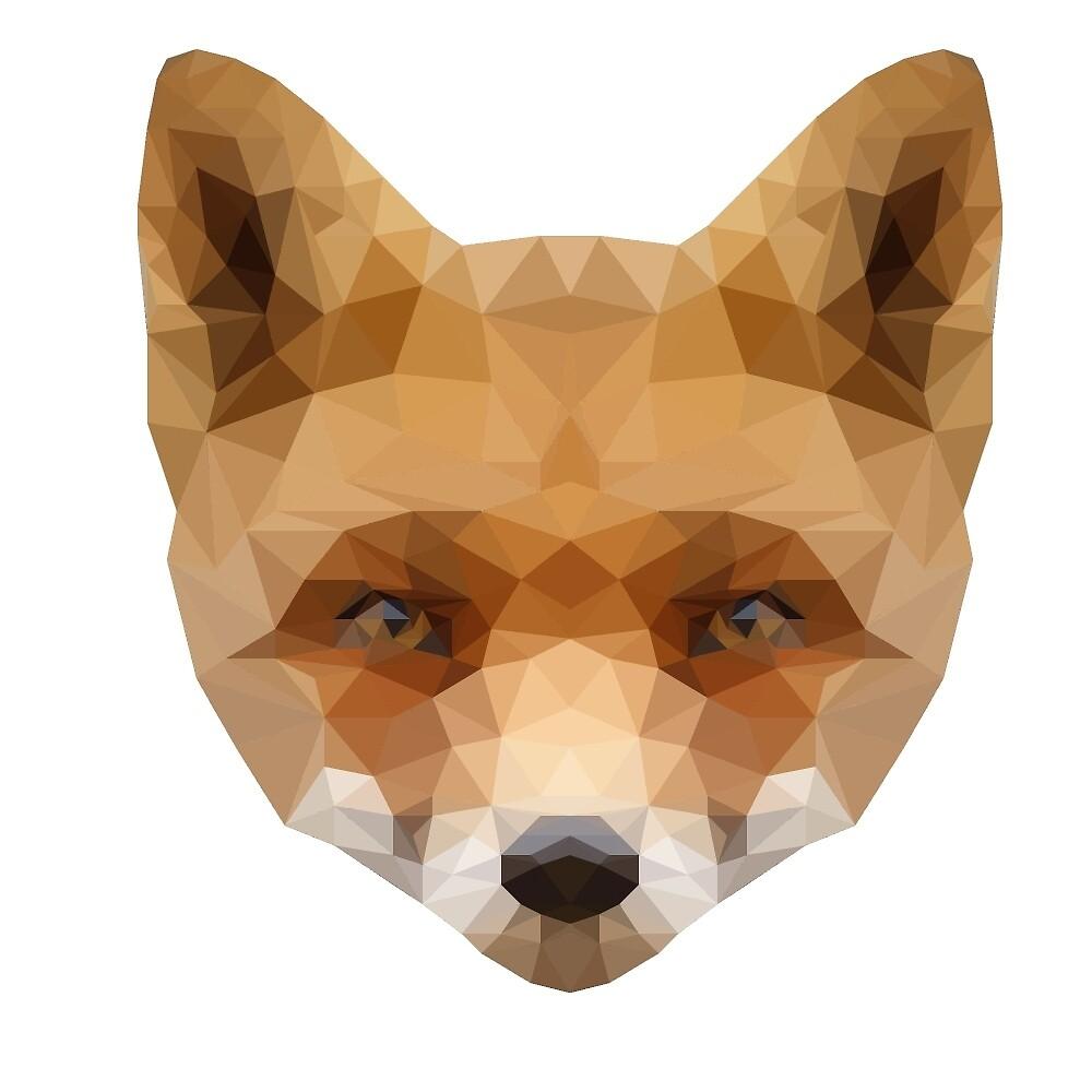 Low Poly Red Fox by SirPerroRojo