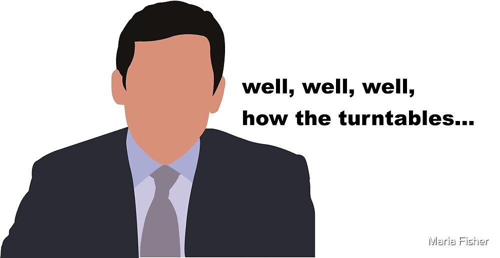 Michael Scott Turntables by Maria Fisher