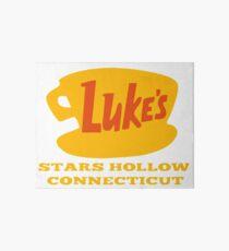 Stars Hollow  Luke's Diner  Art Board