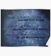 Sleepwalking - Bring Me The Horizon  Poster