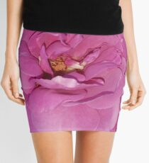 Pretty in Pink Rose Mini Skirt