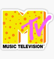 retro MTV Sticker