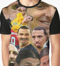 Zlatan Ibrahimovic Graphic T-Shirt