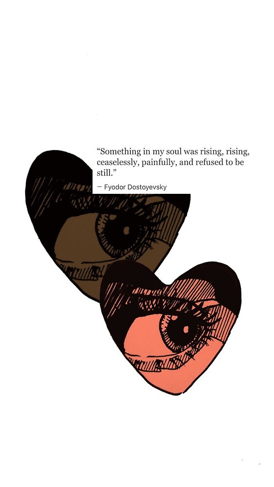 Eye in Heart Shape With Quote by CookieswCaylen