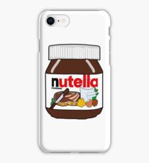 Nutella Jar  iPhone Case/Skin