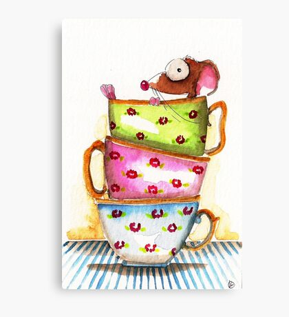 Tea for One Canvas Print