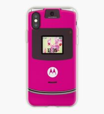 Motorola Razr: pink iPhone Case