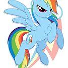 Rainbow Dash Vignette by EchoesLight